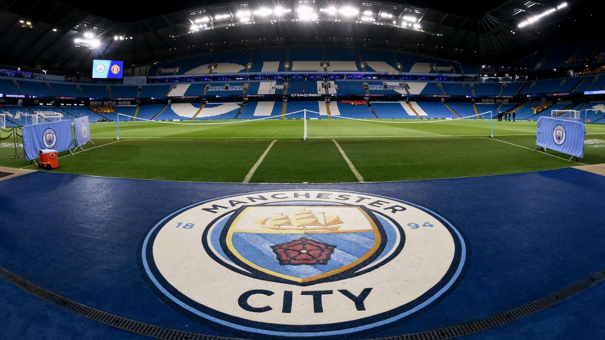 A general view of Etihad Stadium ahead of the Carabao Cup Semi Final match between Manchester City and Manchester United at Etihad Stadium