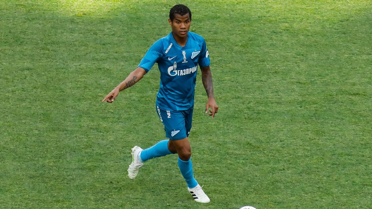 Zenit San Pietroburgo 2020 - Il mediano colombiano Wilmar Barrios (Getty Images)