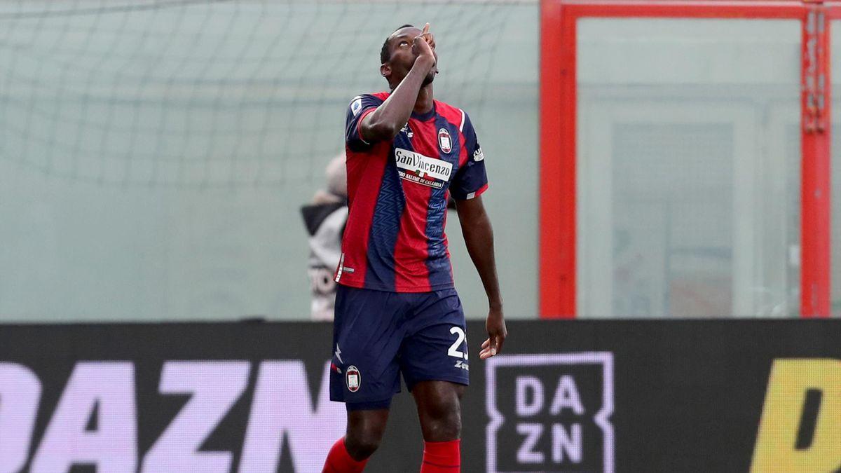 Nwankwo Simy, Crotone-Benevento, Serie A 2020-21, Getty Images
