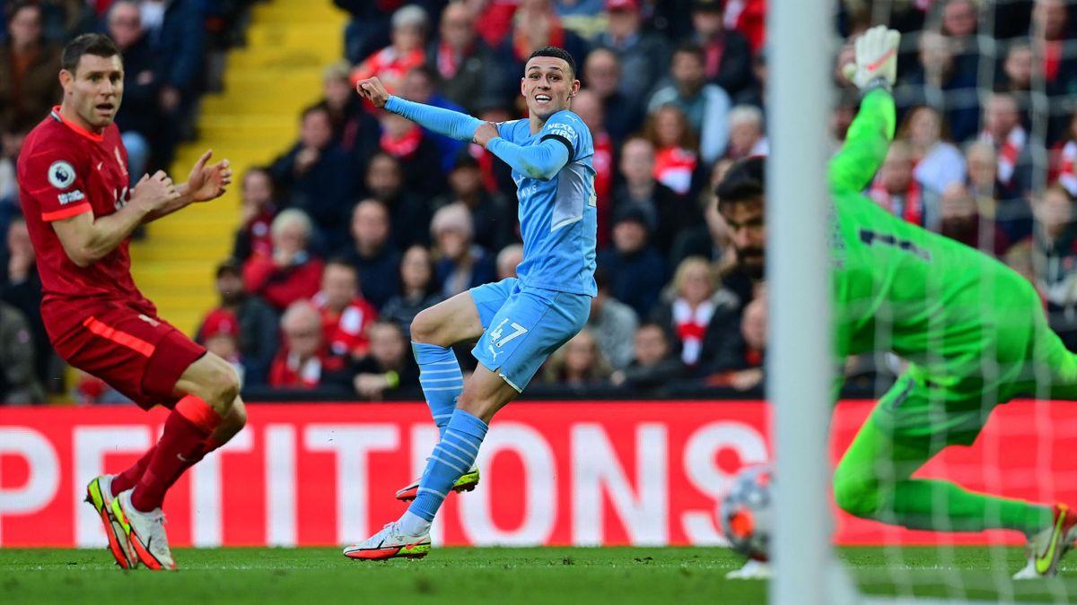 Phil Foden szárnyalt a Liverpool ellen