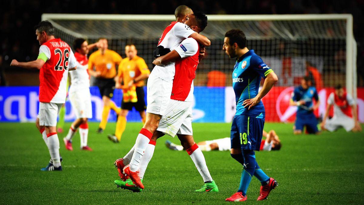 L'AS Monaco est en quarts de finale de la Ligue des champions après avoir sorti Arsenal.