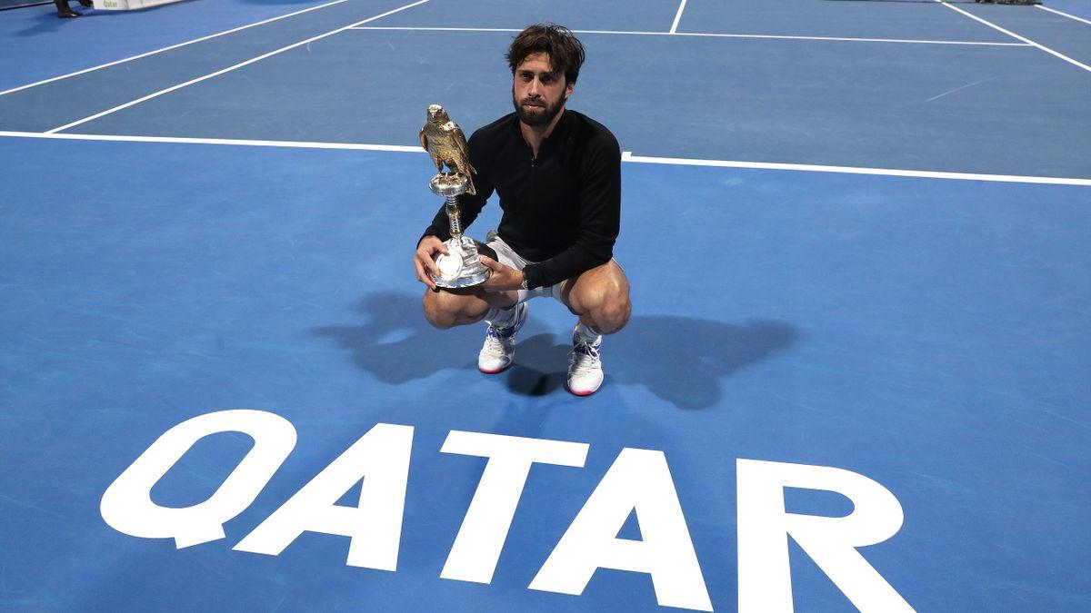 Nikoloz Basilashvili, ATP Doha 2021