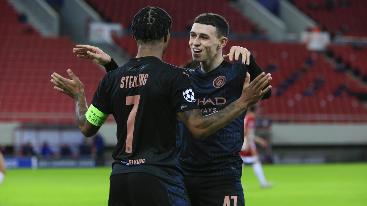 Raheem Sterling und Phil Foden - Manchester City