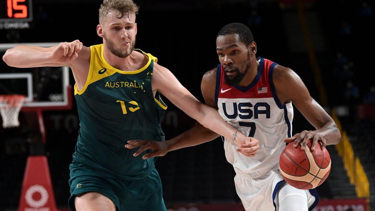 Tokyo 2020   Samenvatting halve finale USA - Australië