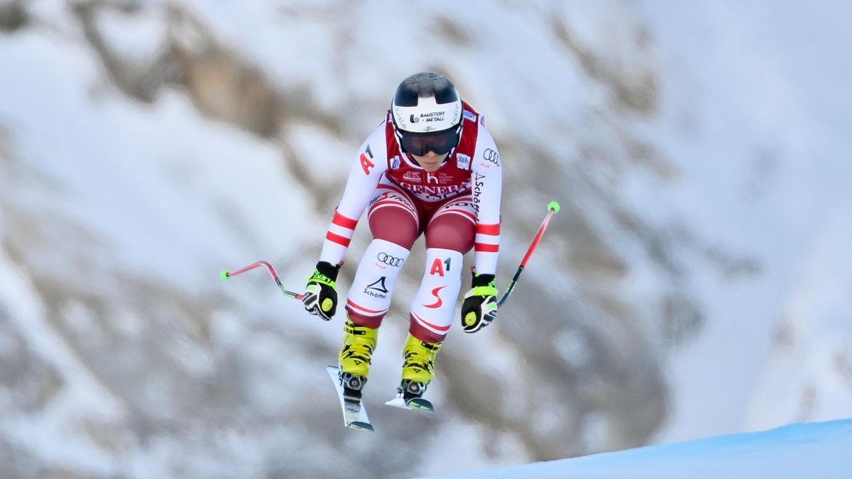 Nicole Schmidhofer hatte sich in Val d'Isere schwer verletzt