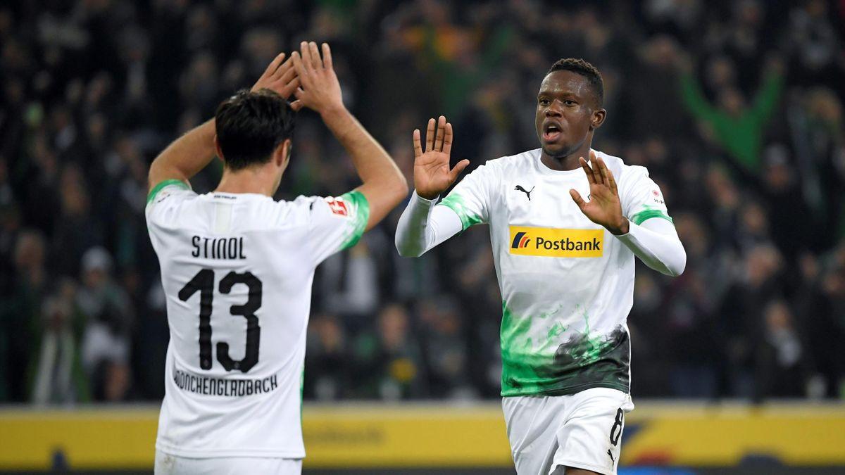 Borussia Mönchengladbach: Lars Stindl (links) und Denis Zakaria