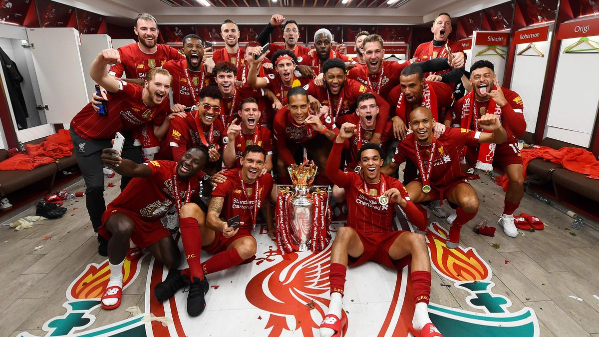 Liverpool, campioana Premier League