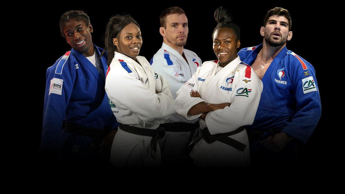 Championnats du monde de judo 2021, visuel Eurosport France