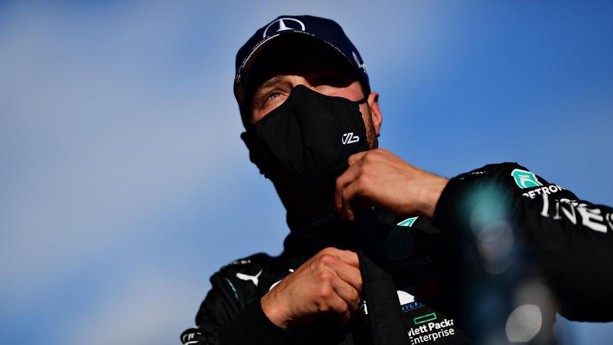 Valtteri Bottas (Mercedes) lors du Grand Prix de l'Eifel, le 10 octobre 2020