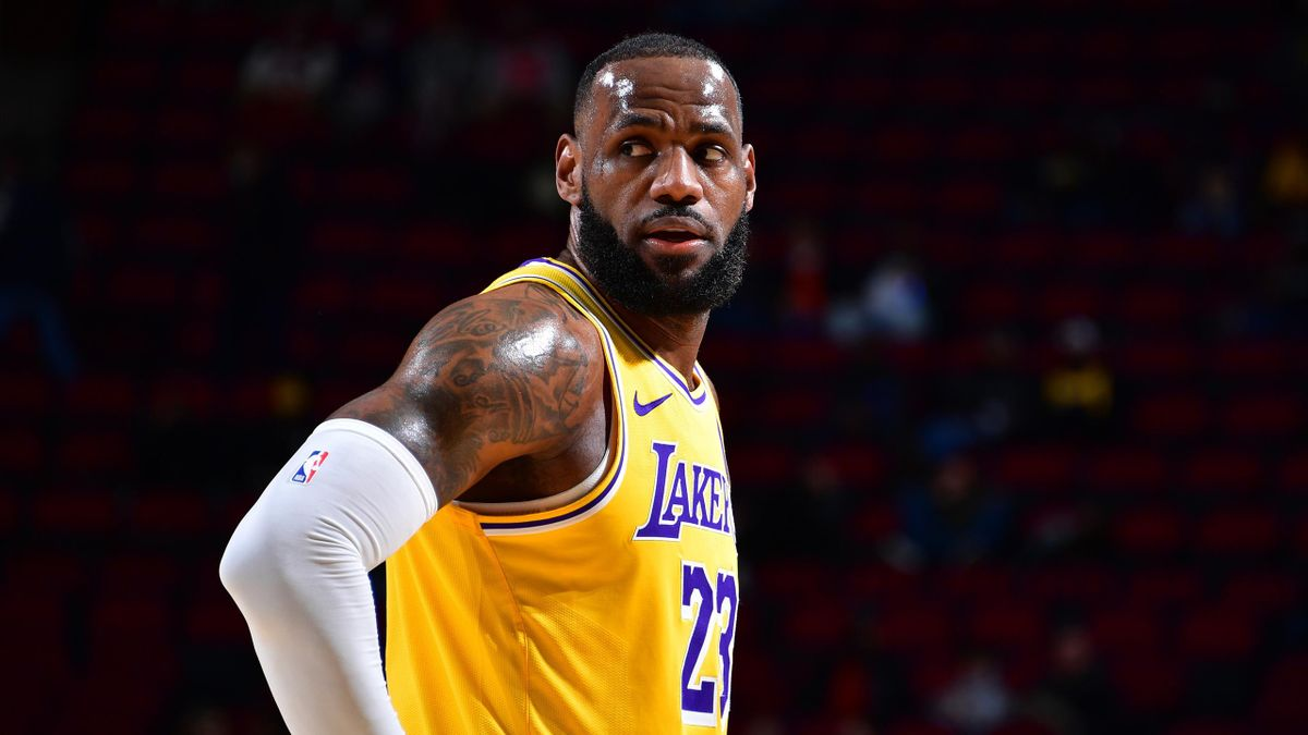 LeBron James (Lakers) face aux Rockets
