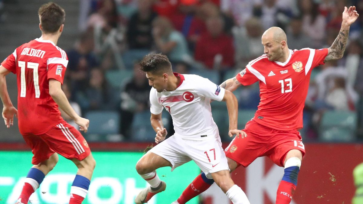 Russland Türkei Fußball