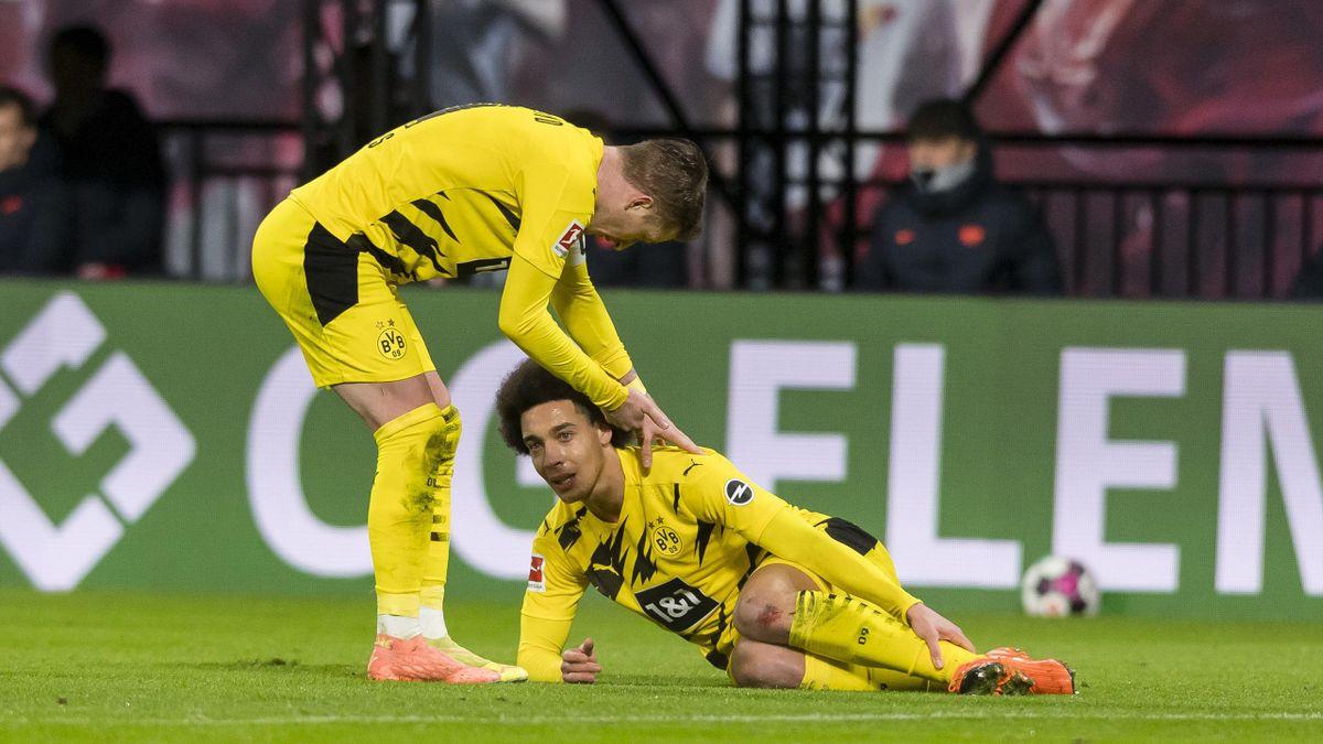 Marco Reus (links) und Axel Witsel - Borussia Dortmund