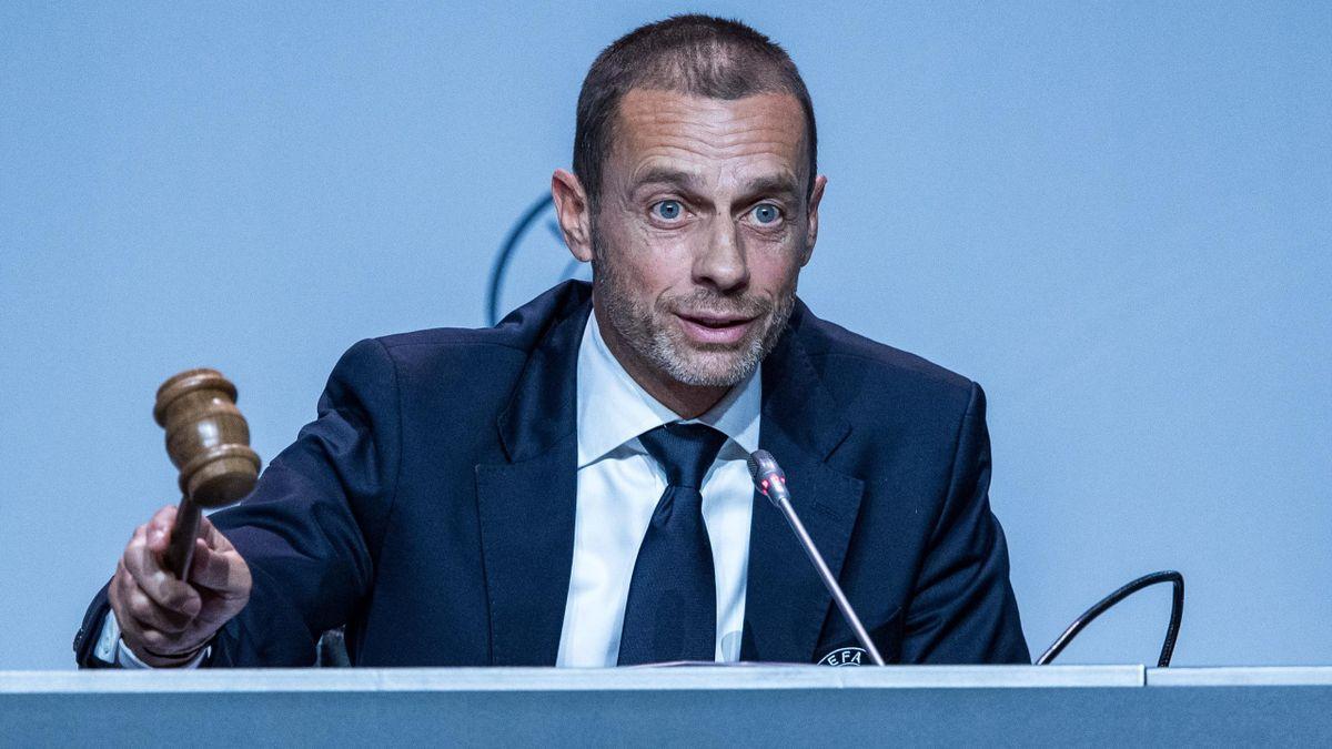 UEFA-Präsident Aleksander Ceferin will Spieler und Vereine, die in der Super League antreten, aus allen Wettbewerben verbannen