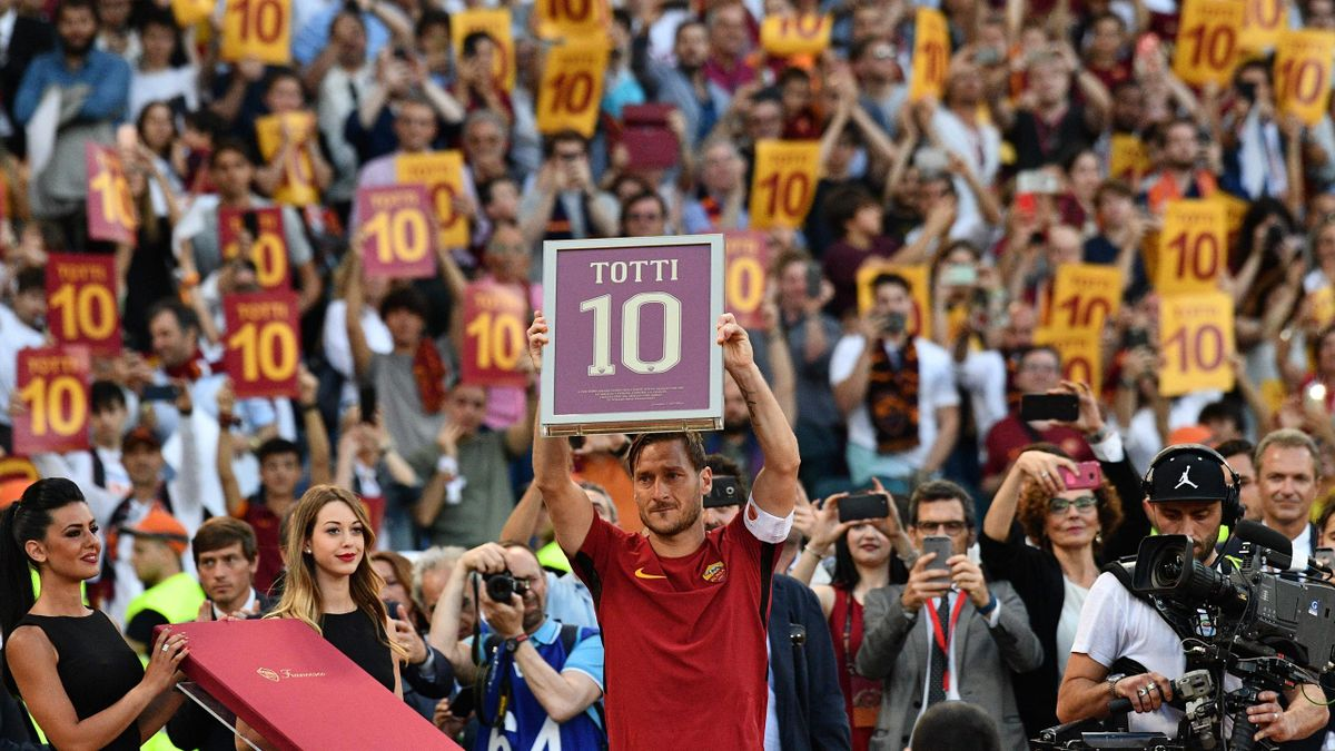2017, Francesco Totti, Roma, Getty Images