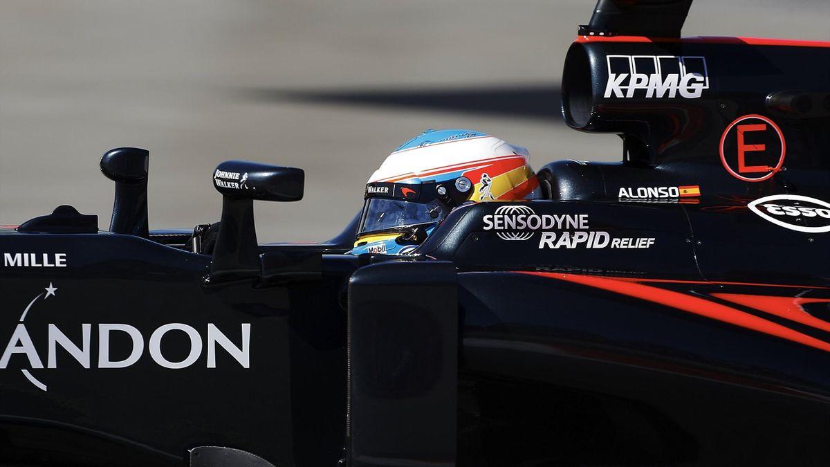 Fernando Alonso (McLaren) - Gran Premio de España 2016