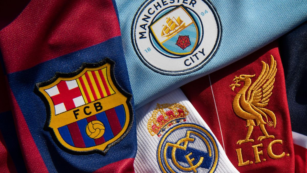 FC Barcelona, Real Madrid, FC Liverpool, Manchester City - Super League