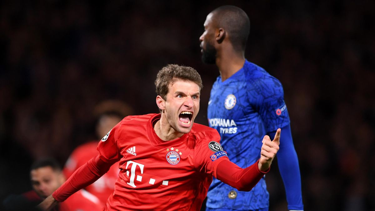 Томас Мюллер, «Челси» – «Бавария»