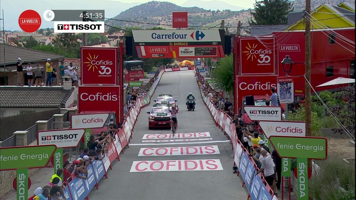 'He looks as fresh as a daisy' - Magnificent Majka's solo effort from 90km secures Stage 15 victory
