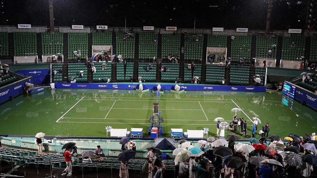 Le tournoi d'Osaka au Japon.