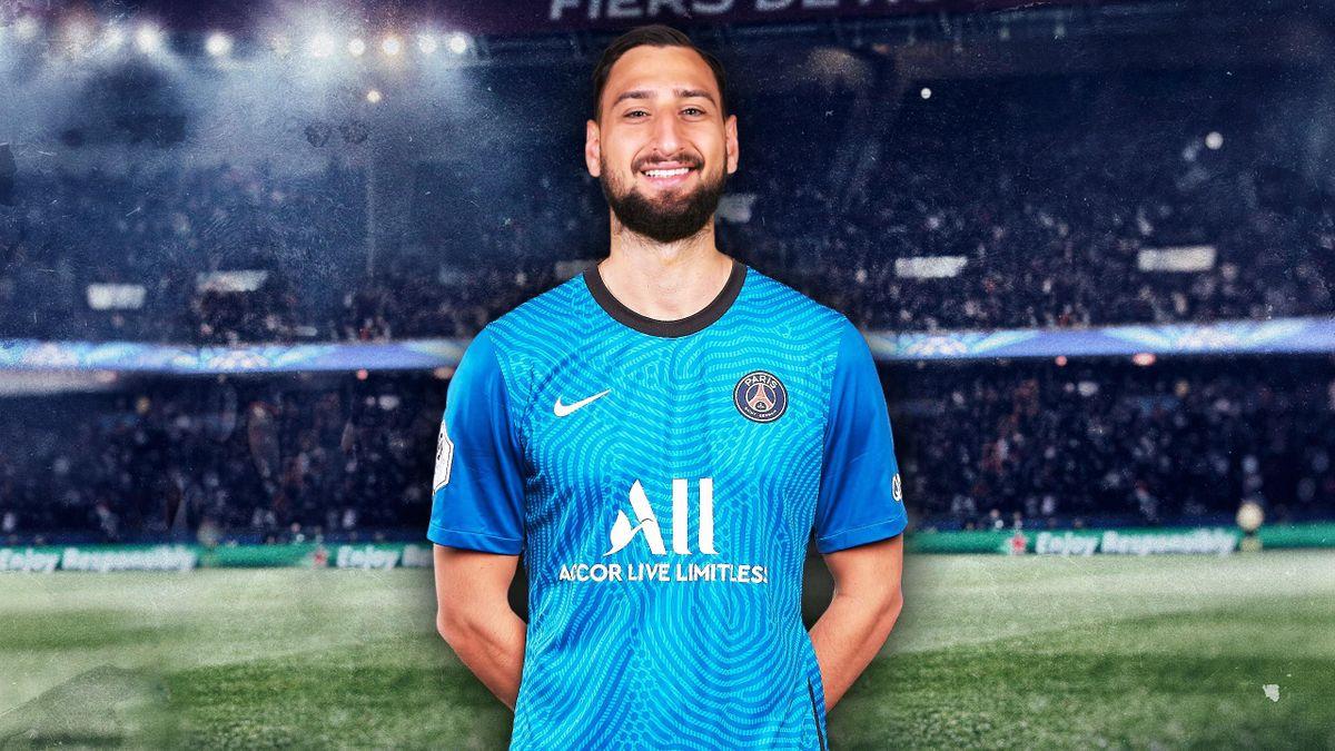 Gianluigi Donnarumma nouveau joueur du Paris Saint-Germain