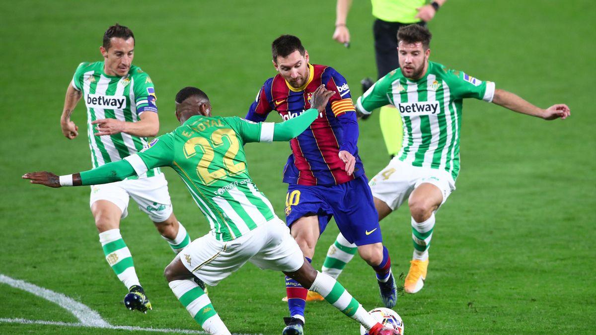 Lionel Messi   Betis v Barcelona