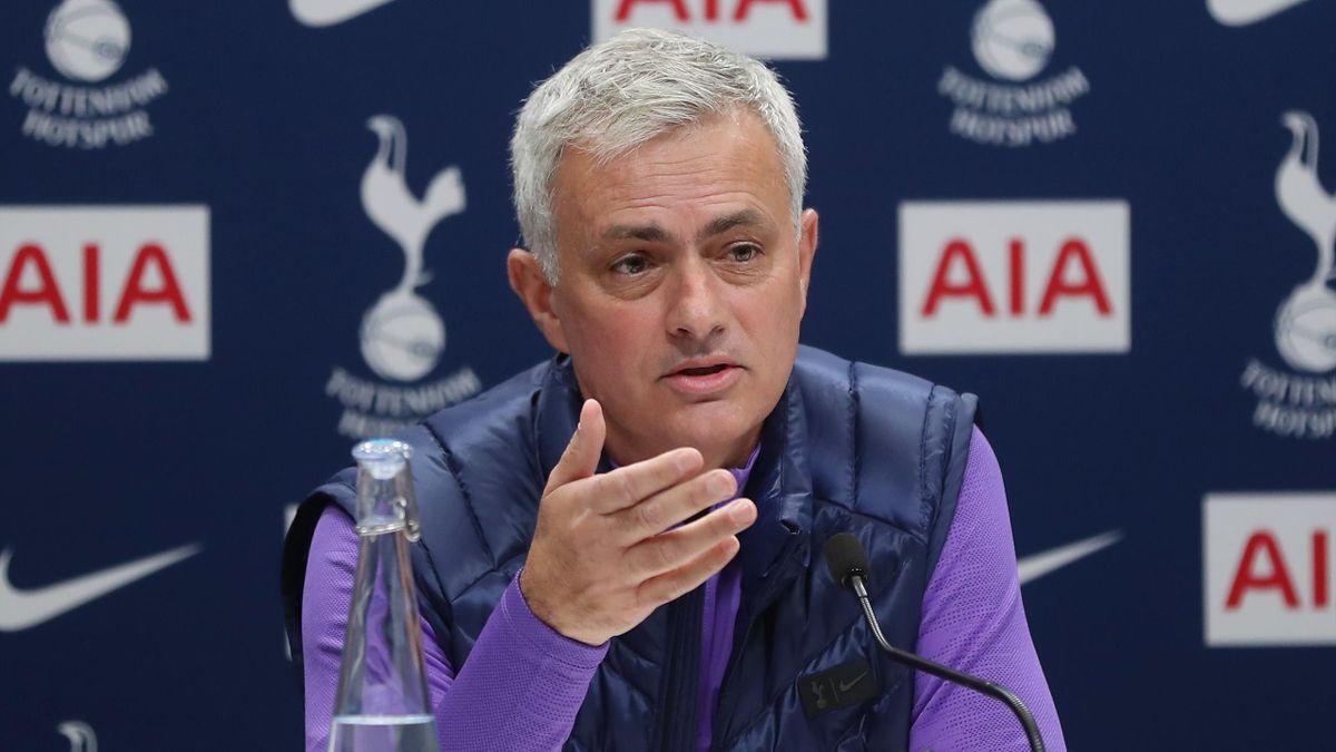 ose Mourinho, Head Coach of Tottenham Hotspur