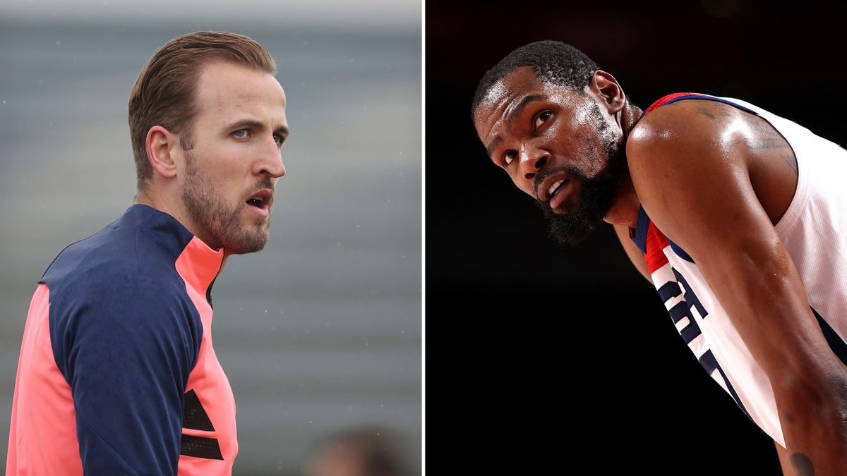 Harry Kane and Kevin Durant
