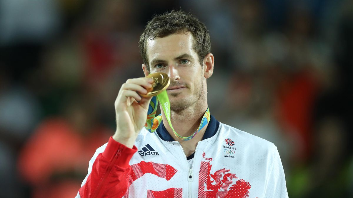 Andy Murray after winning gold at Rio 2016