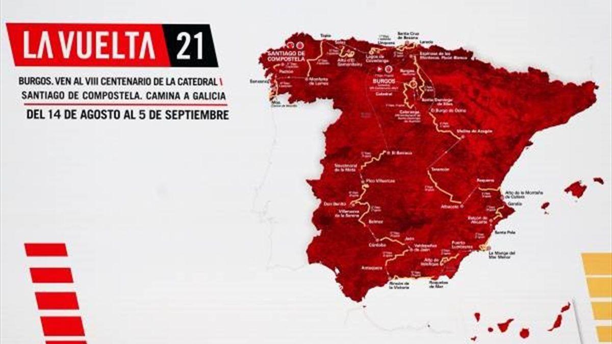 Traseu Vuelta 2021