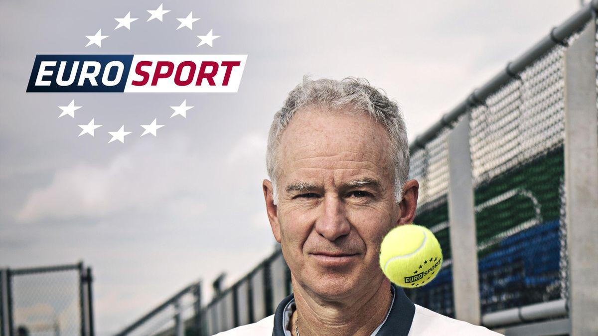 JOHN McENROE Eurosport
