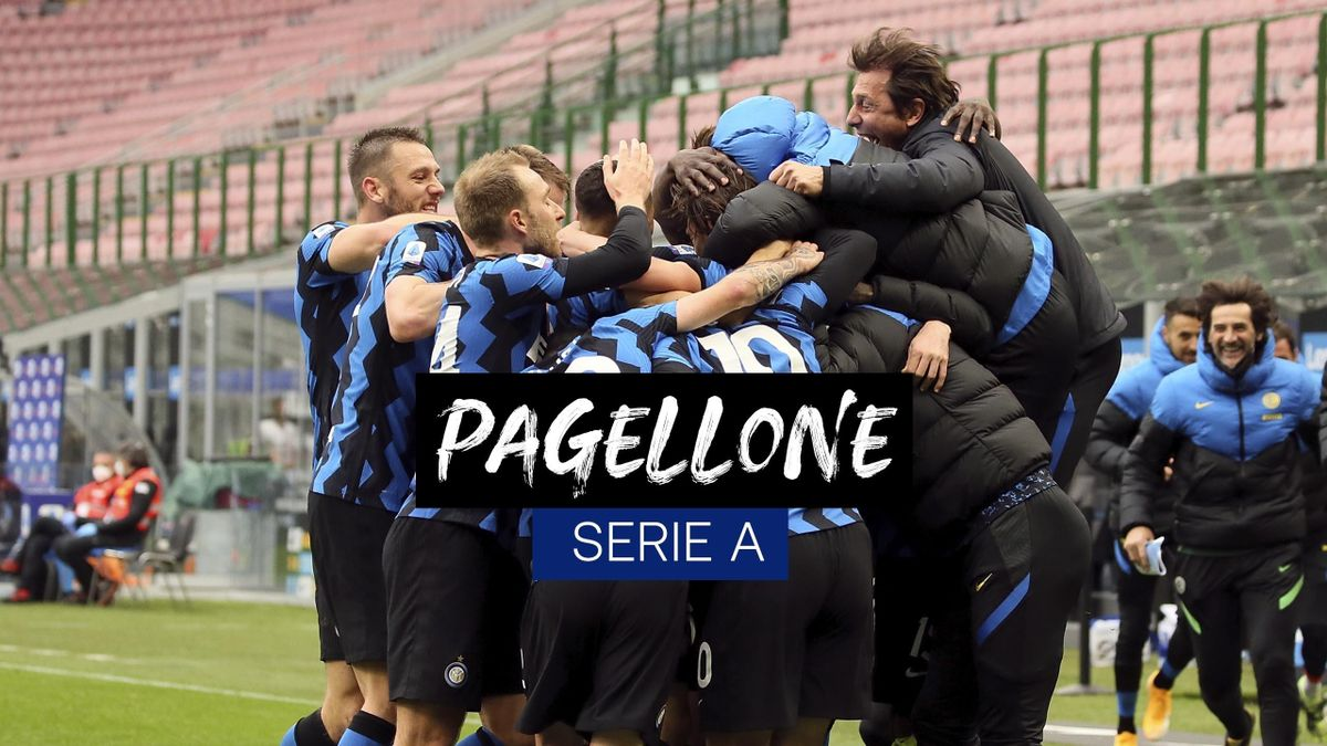 Pagellone Inter