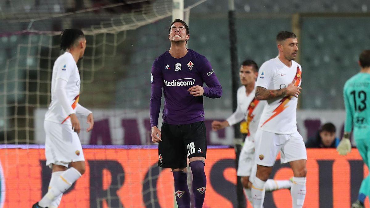 Vlahovic, Fiorentina-Roma, Serie A 2019/20
