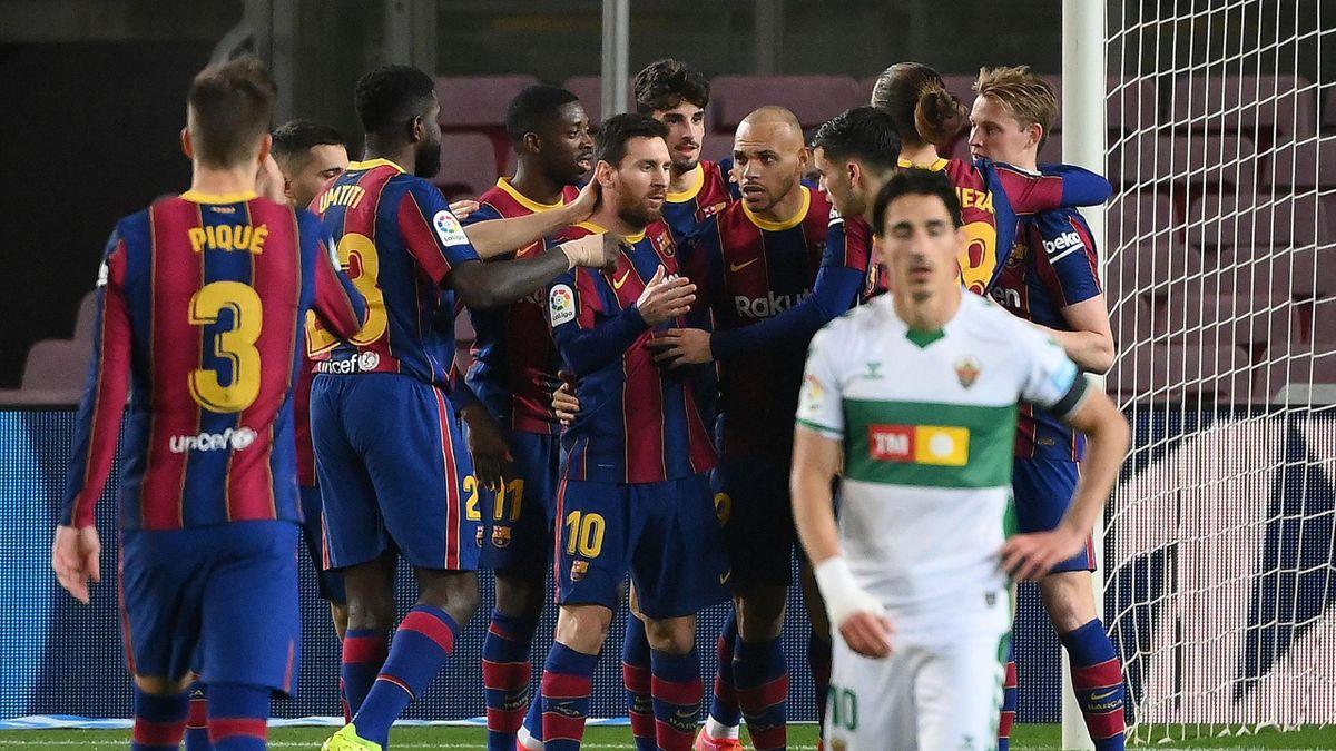 Messi et le Barça tombeurs d'Elche