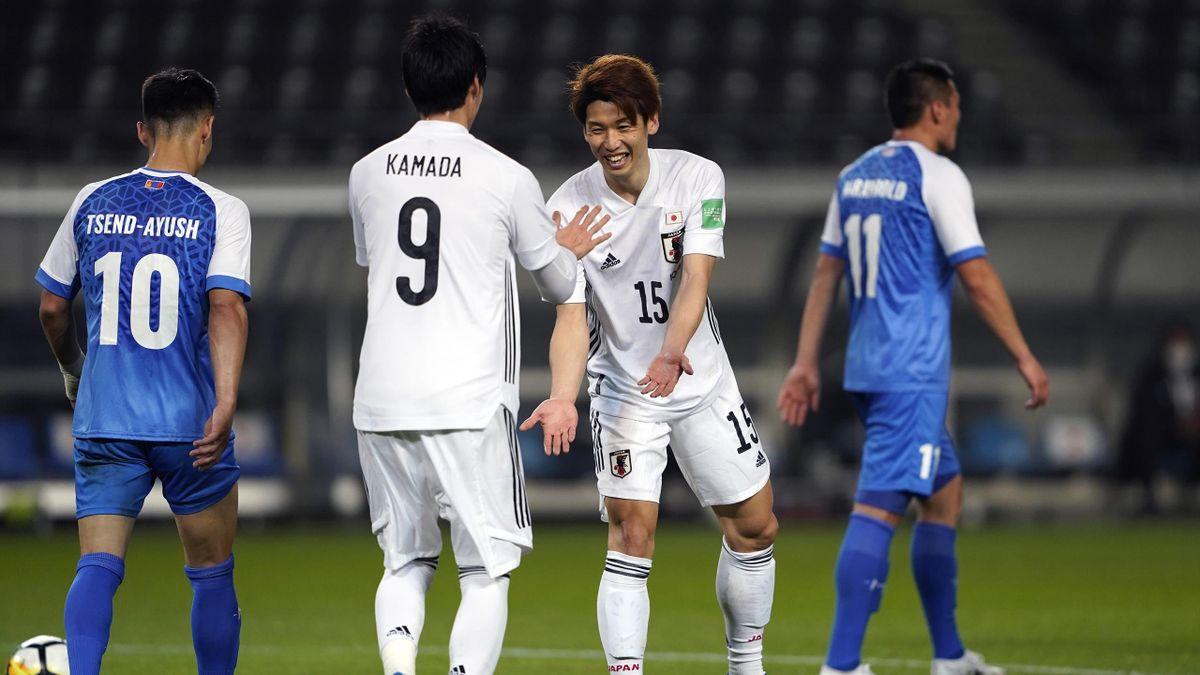 Japan feierte gegen die Mongolei einen neuen Länderspiel-Rekord