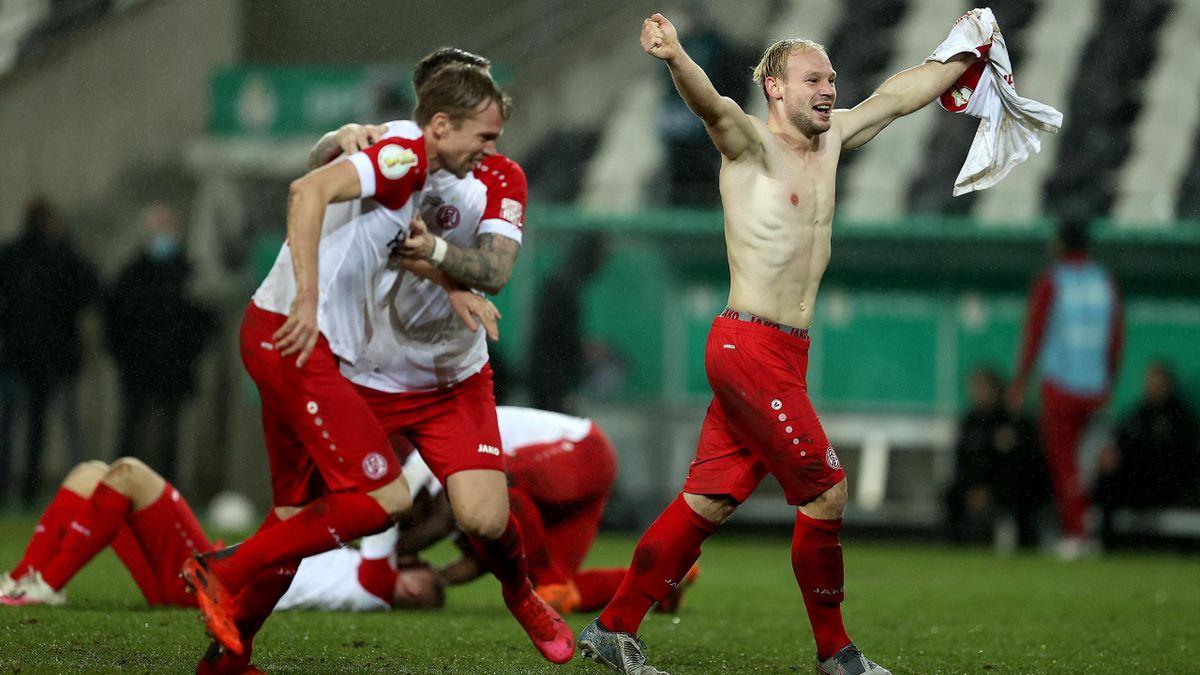 Essen schmeißt Leverkusen aus dem Pokal