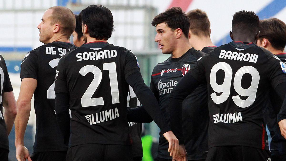 Bologna - Il gol di Orsolini contro la Sampdoria