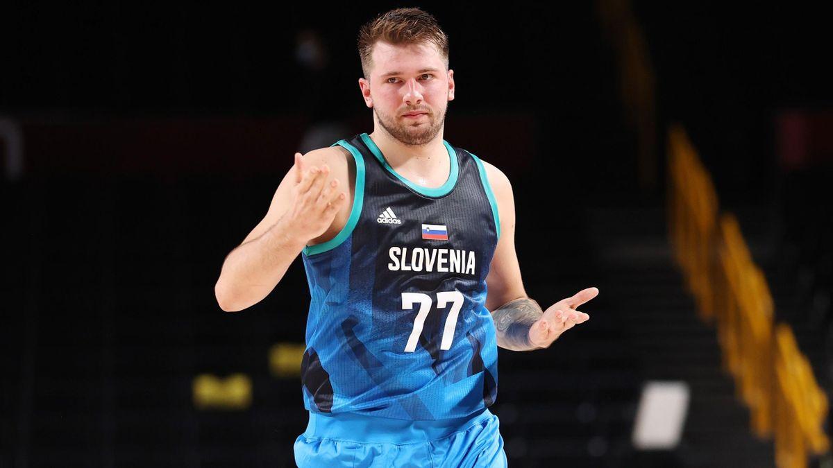 Tokyo 2020 | basketbal - Doncic maakt ook grote indruk tijdens Slovenië - Japan