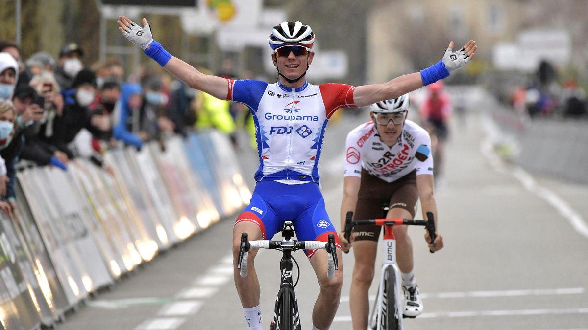 David Gaudu (Groupama FDJ), vainqueur de la Classic de l'Ardèche 2021