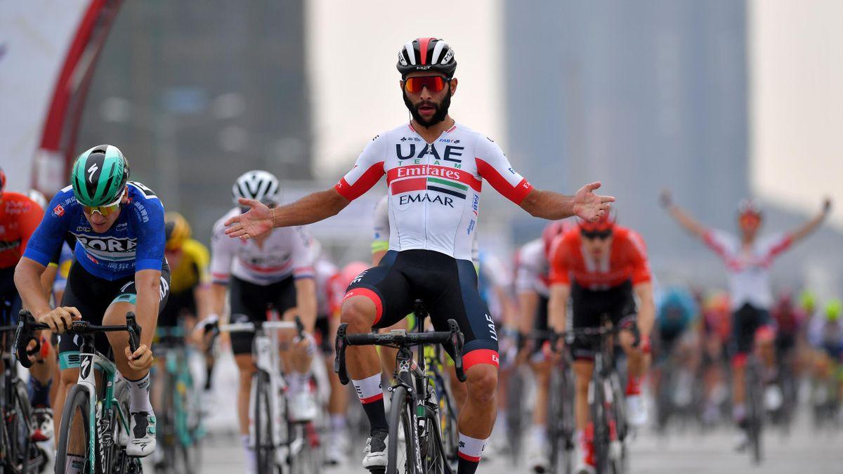 (UAE Team Emirates) vainqueur de la 5e étape du Tour de Guangxi 2019 à Guilin