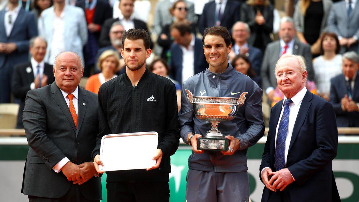 Bernard Giudicelli lors de la finale 2019 de Roland-Garros.