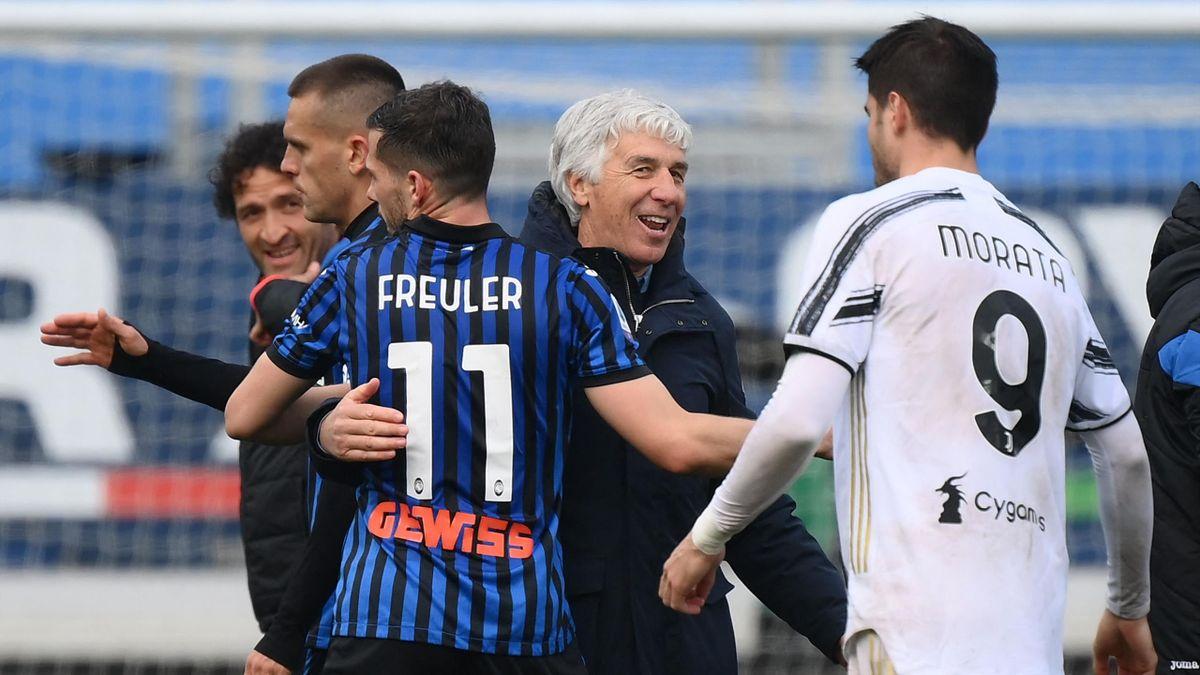 L'Atalanta a crucifié la Juventus