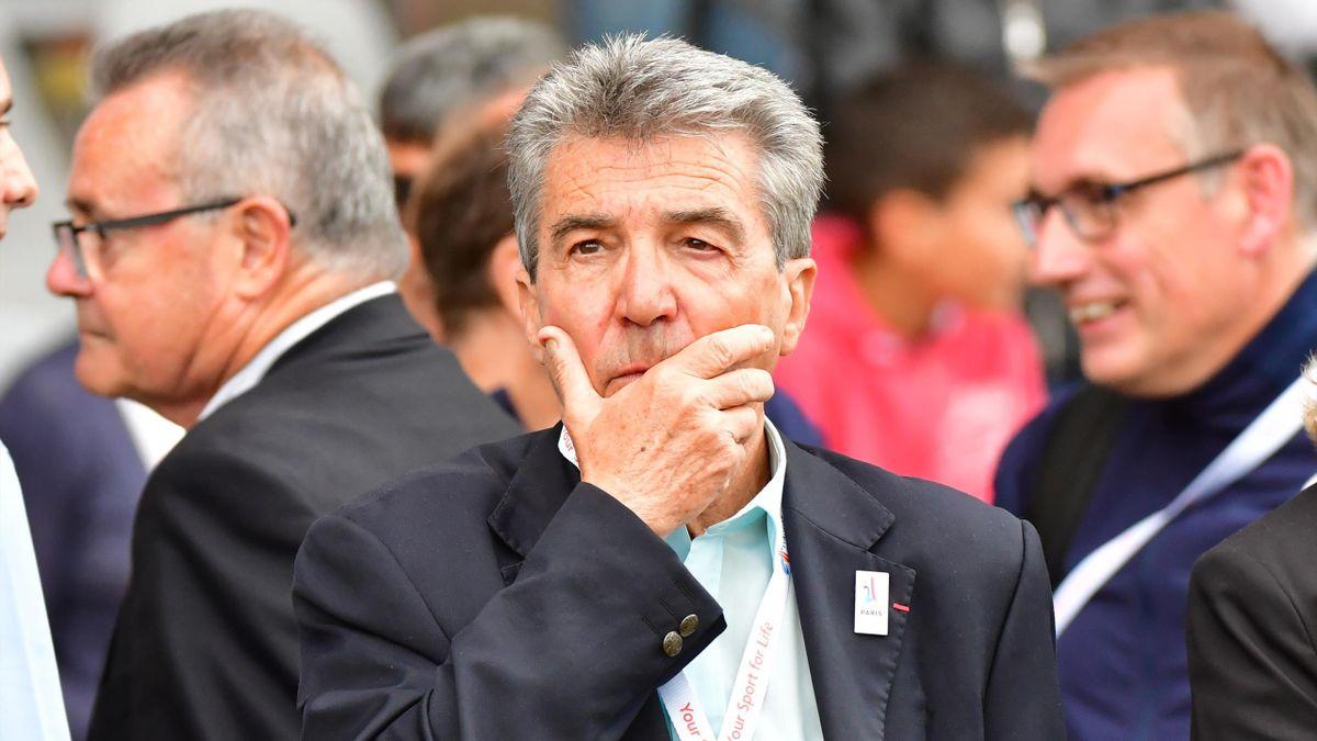 André Giraud, président de la Fédération française d'athlétisme (FFA)