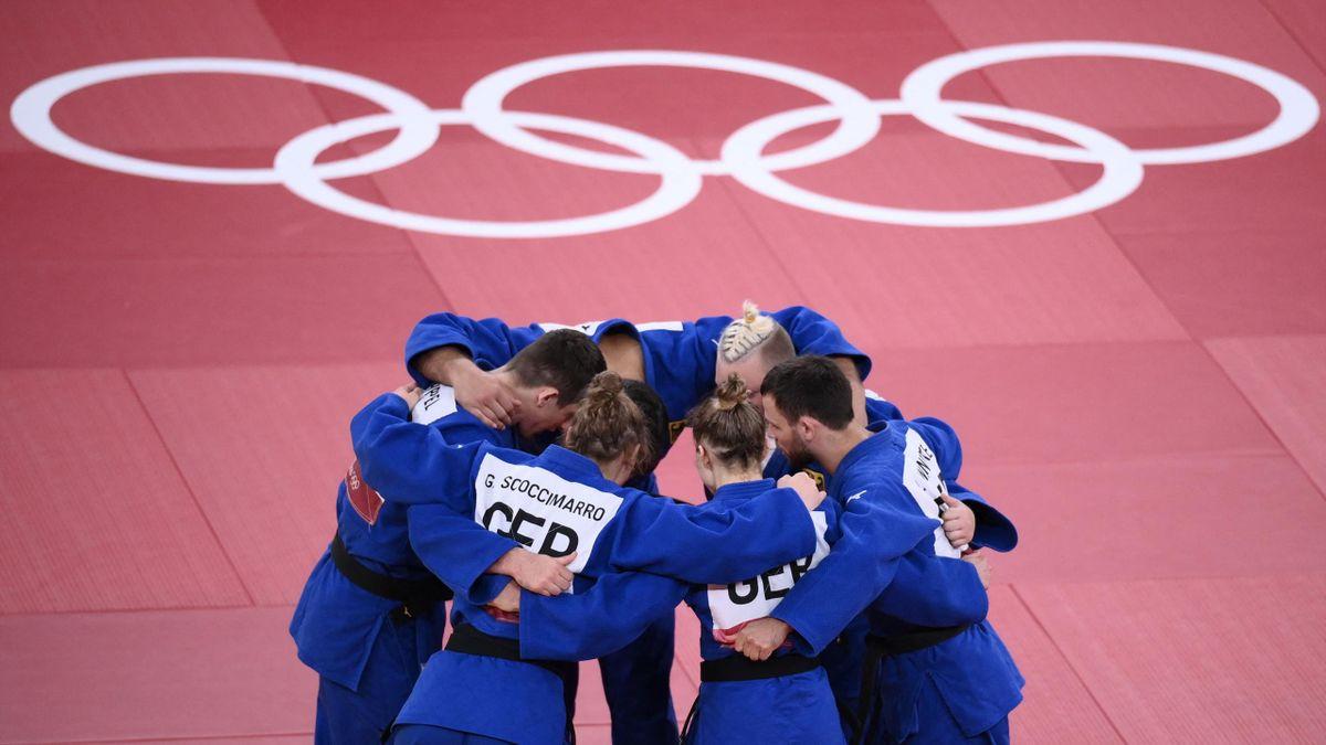Das deutsche Mixed Judo Team in Tokio