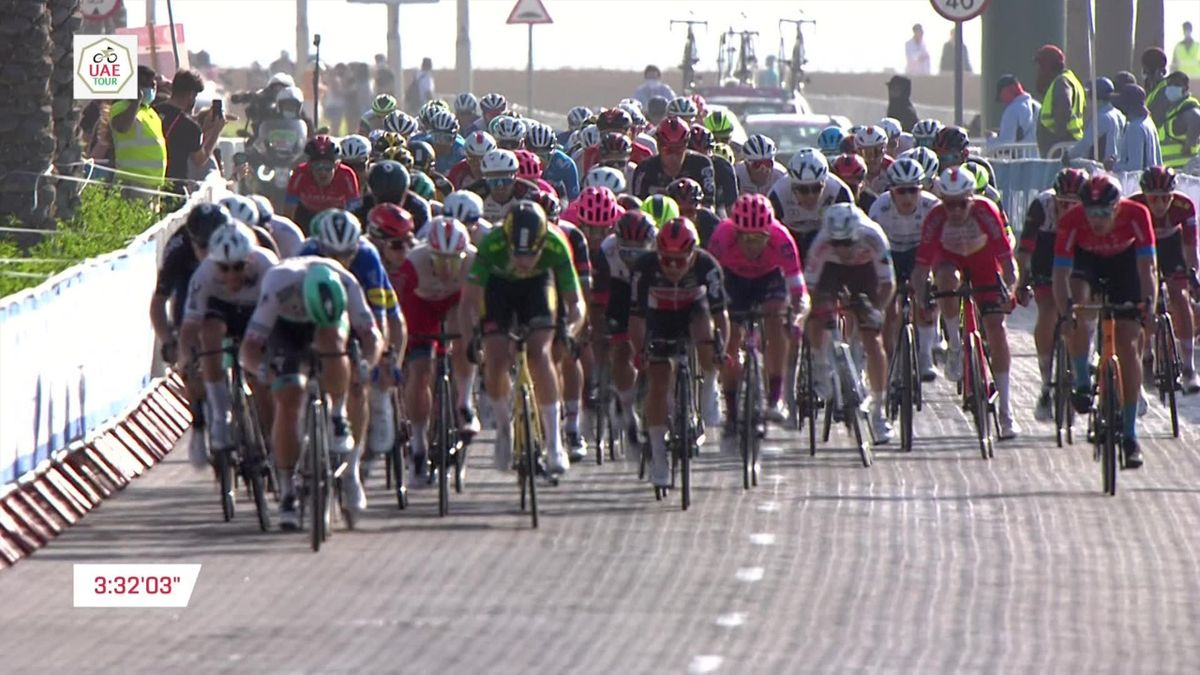 'Perfect sprint' - Bennett nails finish to claim Stage 6 win at UAE Tour