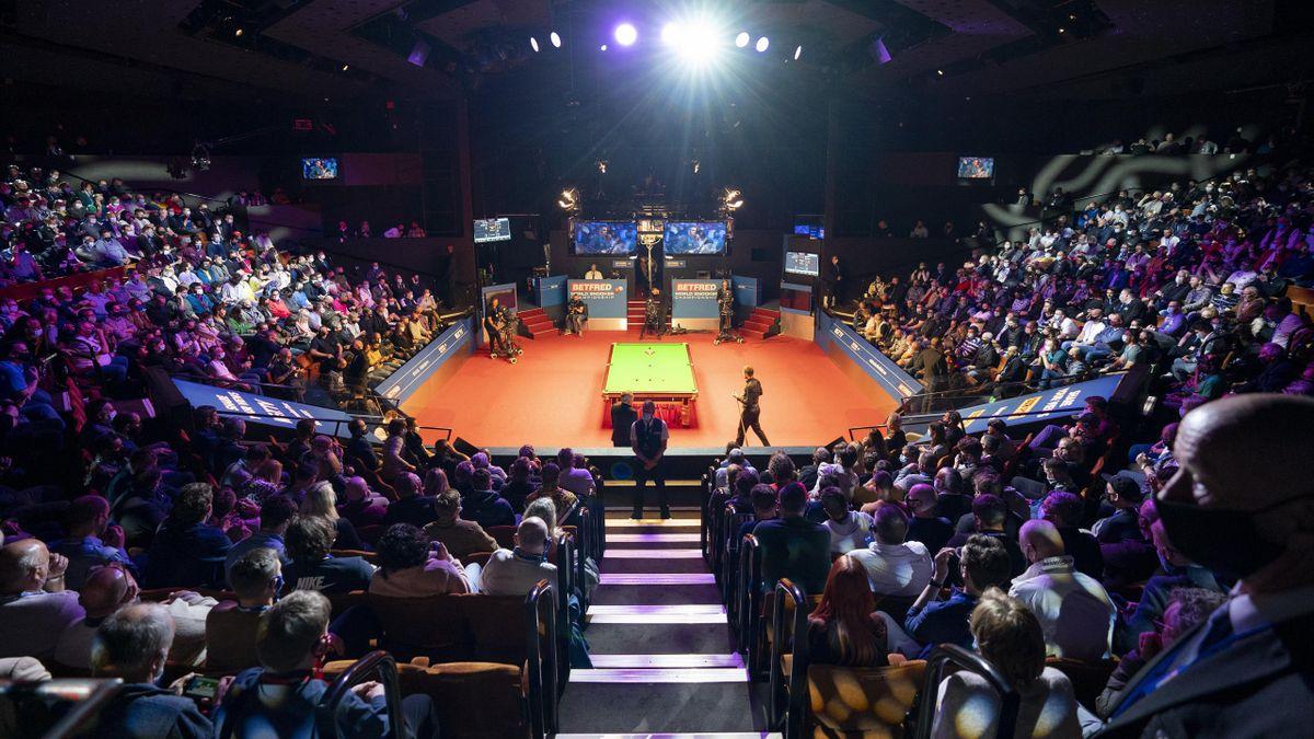 Snooker-WM 2021 im Crucible