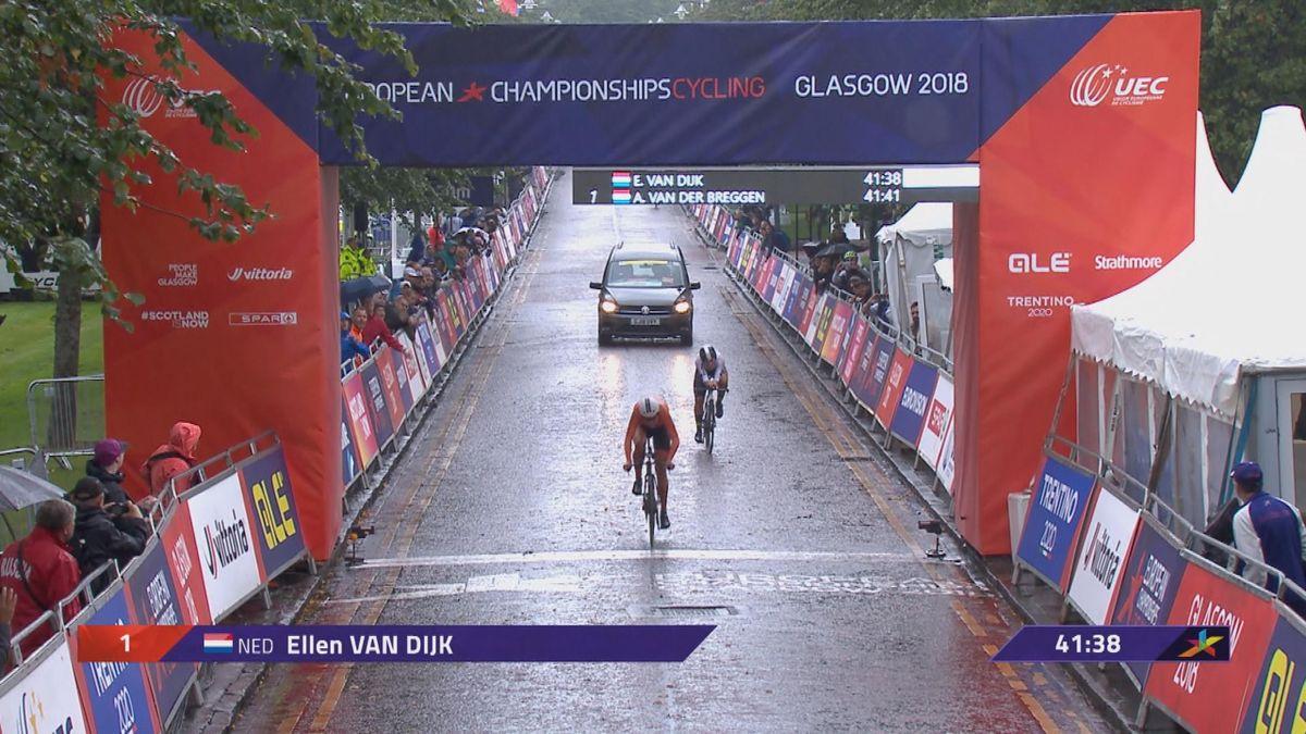 European Championship : Road Cycling- Time trial Women