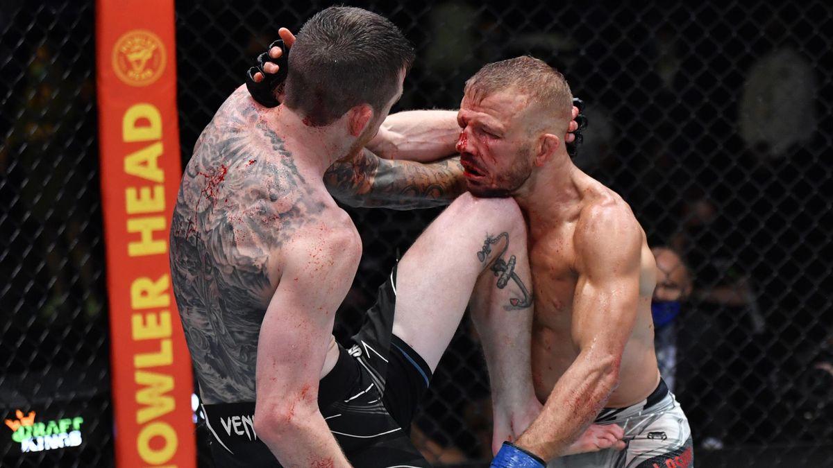 Кори Сэндхаген и Ти Джей Диллашоу, Обзор UFC Vegas 32