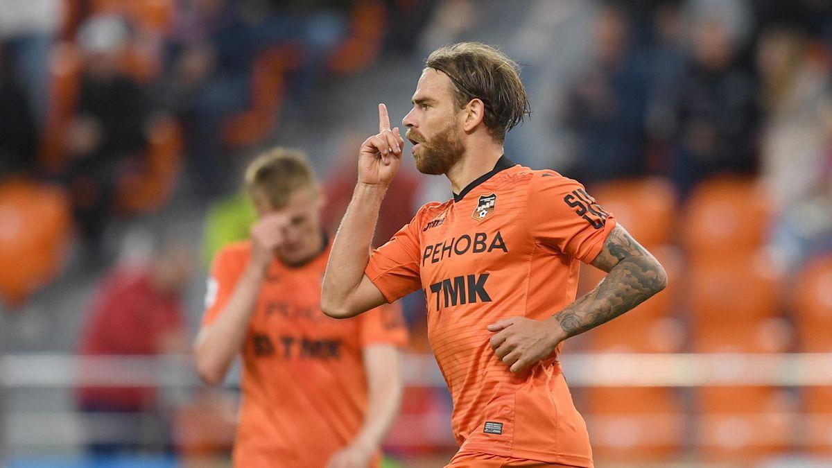 Eric Bicfalvi a dat o dublă pentru Ural în meciul câștigat în deplasare cu Ufa