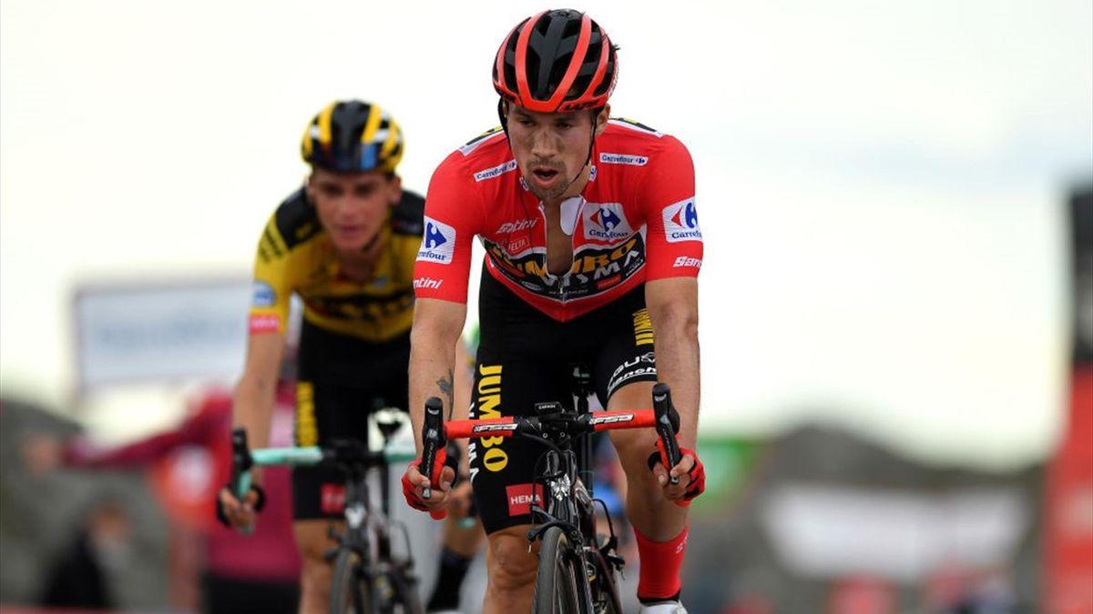 Roglic, Kuss - Vuelta 2020, stage 12 - Getty Images