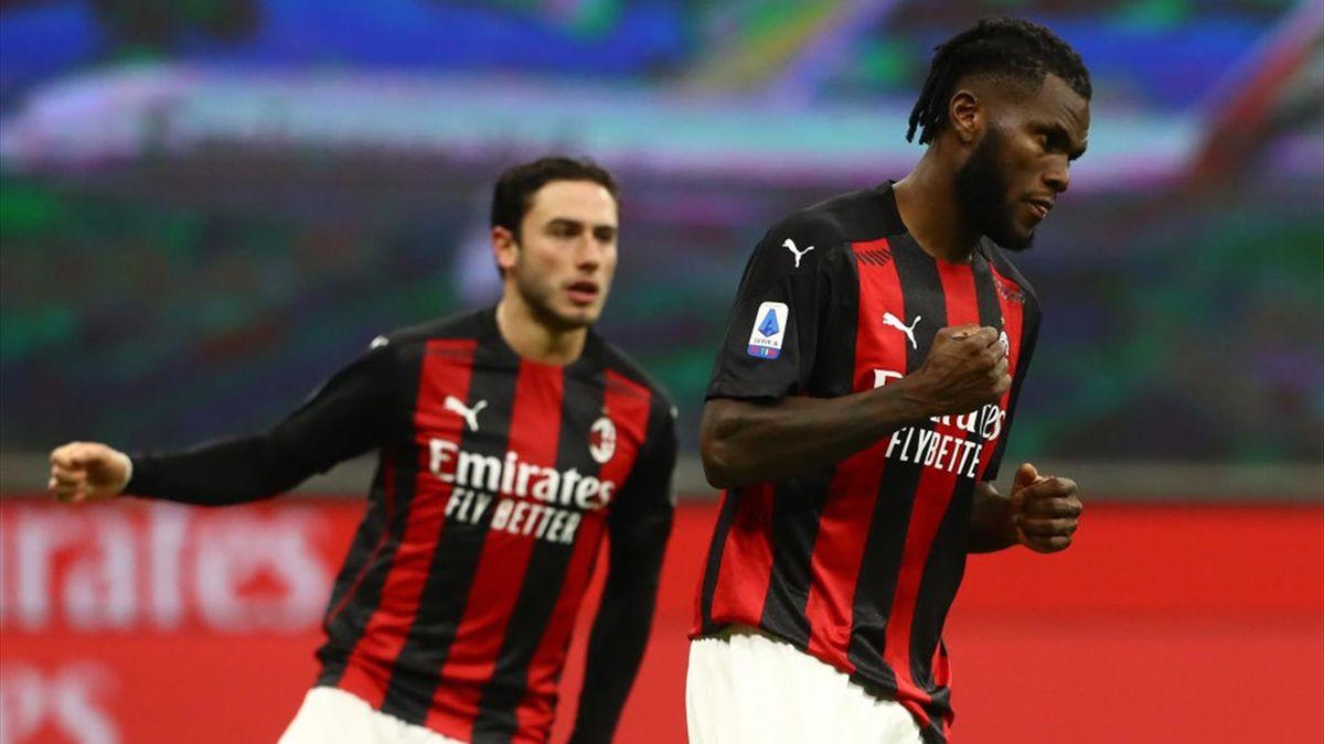 Franck Kessié - Milan-Torino Serie A 2020-21
